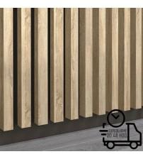 Dekoratívna stenová lamela PREMIUM - Capri Popolavá