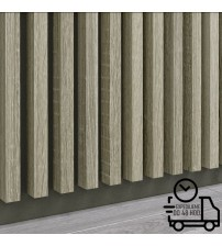 Dekoratívna stenová lamela PREMIUM - Capri Grafit
