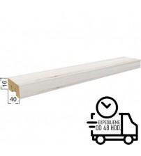 Dekoračná stenová lamela BRION - Biely dub