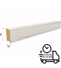 Dekoračná stenová lamela RIVIERA - Biely Dub