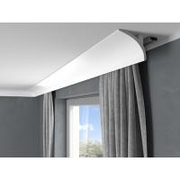 Garnižová stropná lišta QL011 - vhodná pre LED podsvietenie