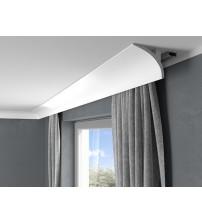 Garnižová stropná lišta MARDOM QL011 - vhodná pre LED podsvietenie