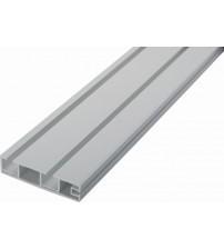 Stropné PVC koľajnice dvojradové - KM II
