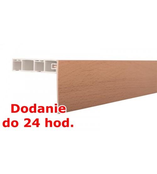 Predná lišta na stropné koľajnice KM - buk