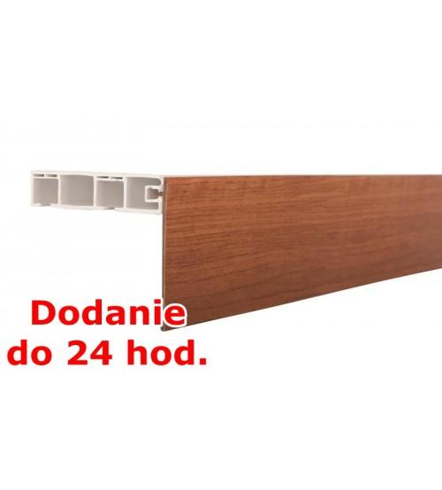 Predná lišta na stropné koľajnice KM - čerešňa
