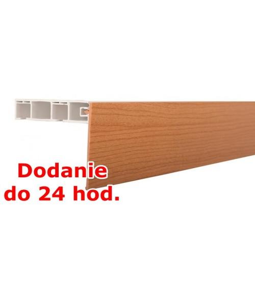 Predná lišta na stropné koľajnice KM - hruška