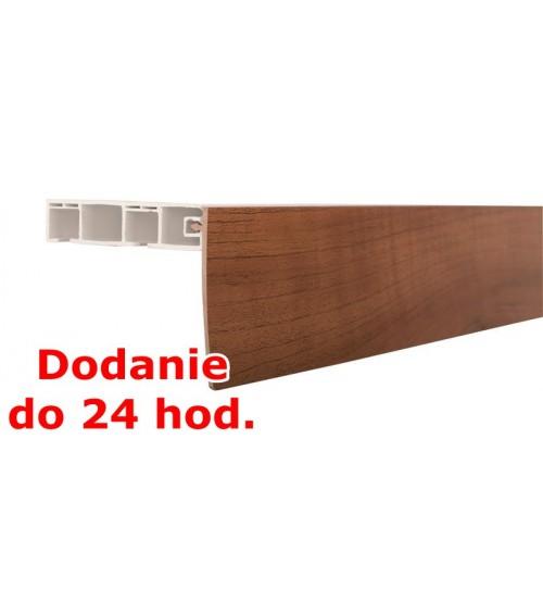 Predná lišta na stropné koľajnice KM - orech