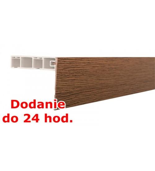 Predná lišta na stropné koľajnice KM - rustikal